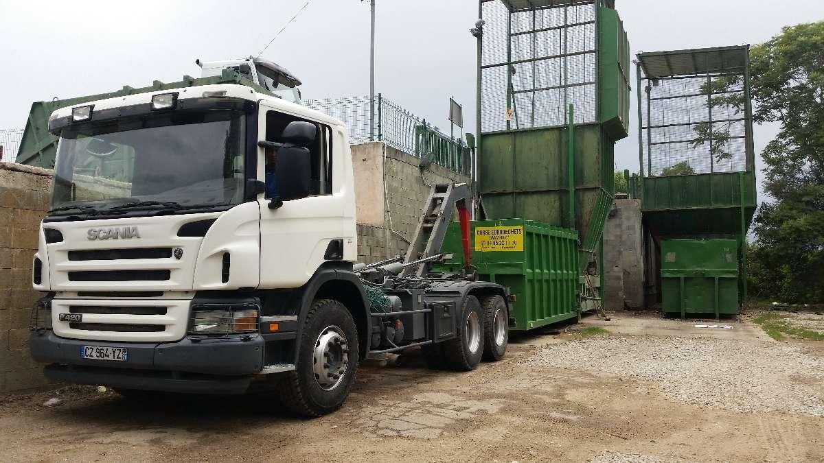 Une gestion des déchets très pointue dans la région d'Ajaccio   Corse Eurodéchets