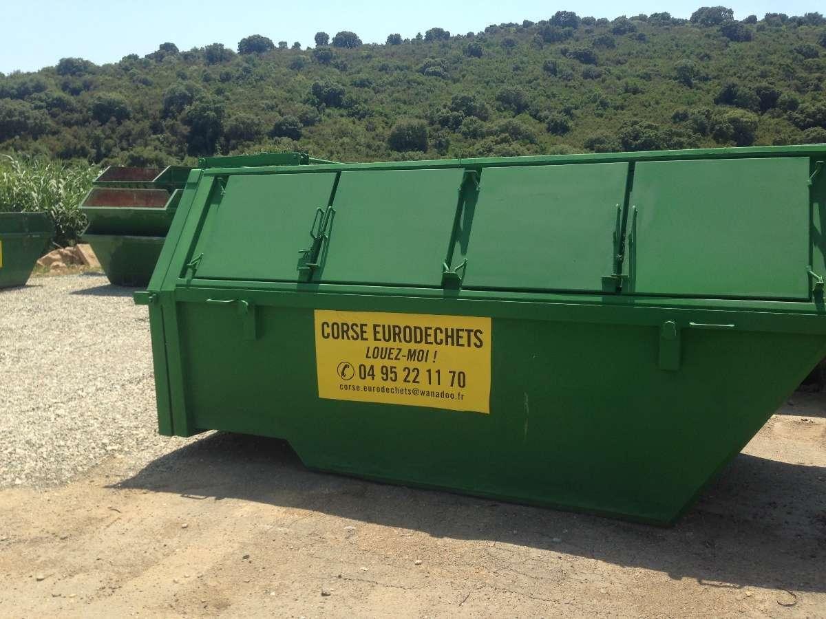 Optez pour la location de compacteur pour réduire les volumes à évacuer à Sarrola-Carcopino   Corse Eurodéchets